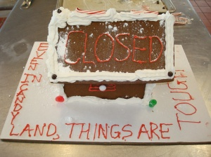 Foreclosed Gingerbread House 1